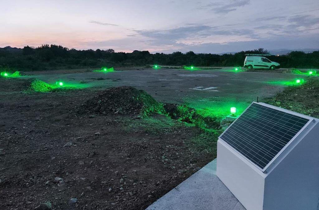 Trogir: Uređen heliodrom na Drveniku Malom, osigurani uvjeti za noćna slijetanja