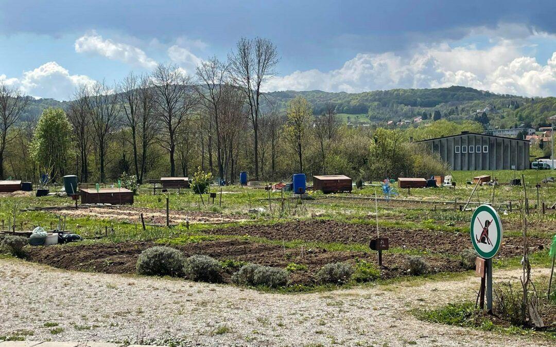 Samoborci na području bivše vojarne uređuju 75 gradskih vrtova