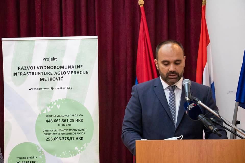 Metković: Krenuli radovi na aglomeraciji, u projektu vrijednom 449 milijuna kuna