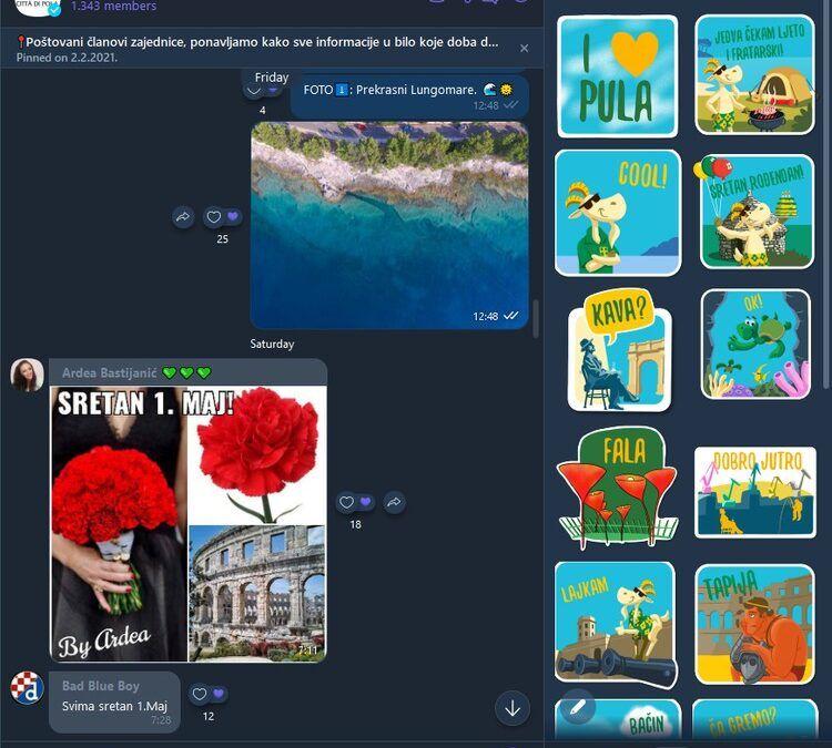 Viber zajednica Grada Pule okuplja preko 1.300 članova, na sva pitanja odmah odgovara virtualni asistent Herman