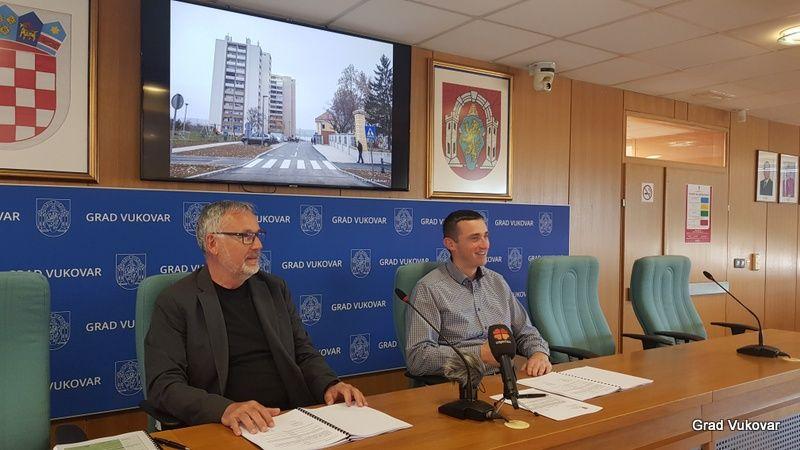 Vukovar: 1,6 milijuna kuna za gradnju novih parkirališnih mjesta u Dunavskoj ulici