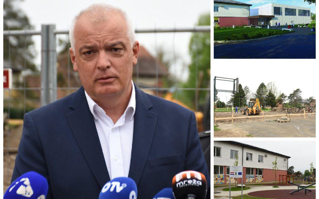 Ivanić-Grad: U Graberju Ivanićkom započela izgradnja školske sportske dvorane vrijedne 12 milijuna kuna
