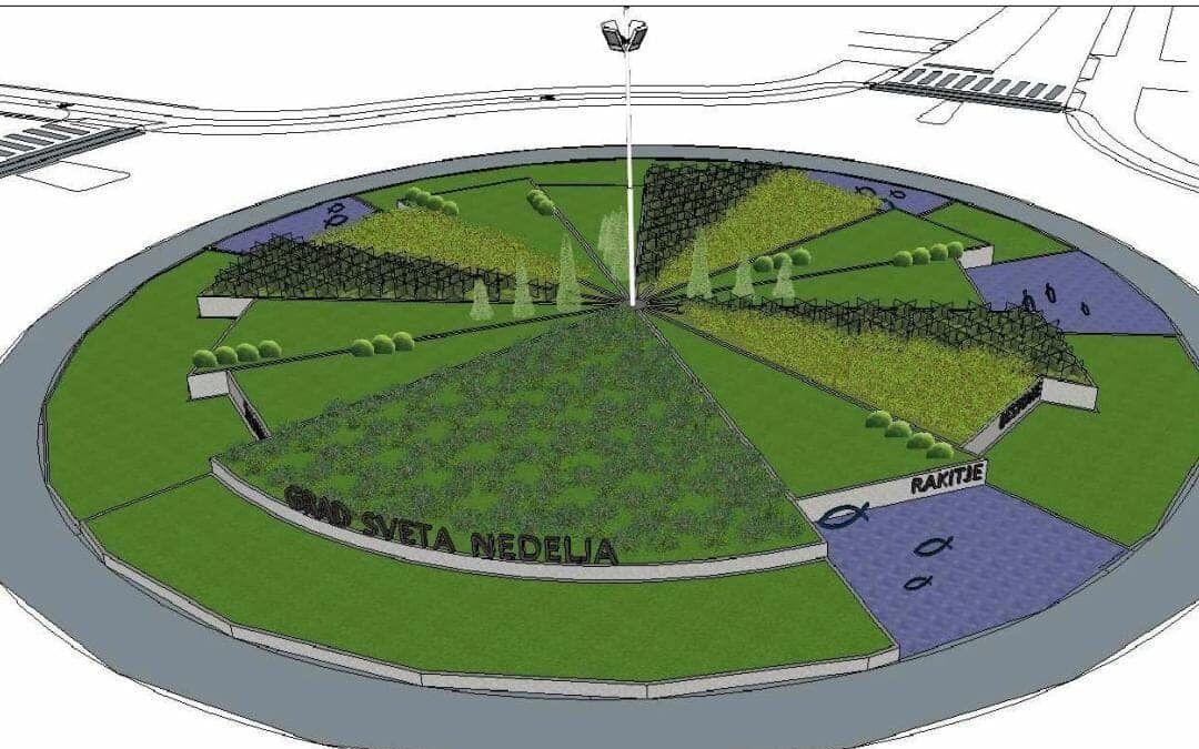 Sveta Nedelja: Uređuje se rotor, prikazivat će sva gradska naselja