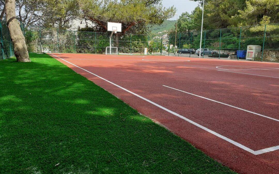 Labin: U Rapcu rekonstruirano igralište, postavljena nova sportska i urbana oprema