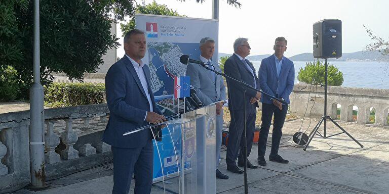 Zadar: Počela povijesna obnova gradske rive, milenijski projekt vrijedan 67,5 milijuna kuna