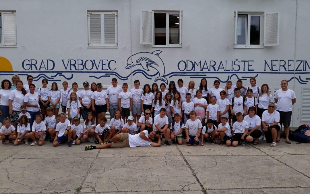 Vrbovec: Sezona u Nerezinama u punom jeku, ove godine kroz odmaralište će proći oko 390 učenika