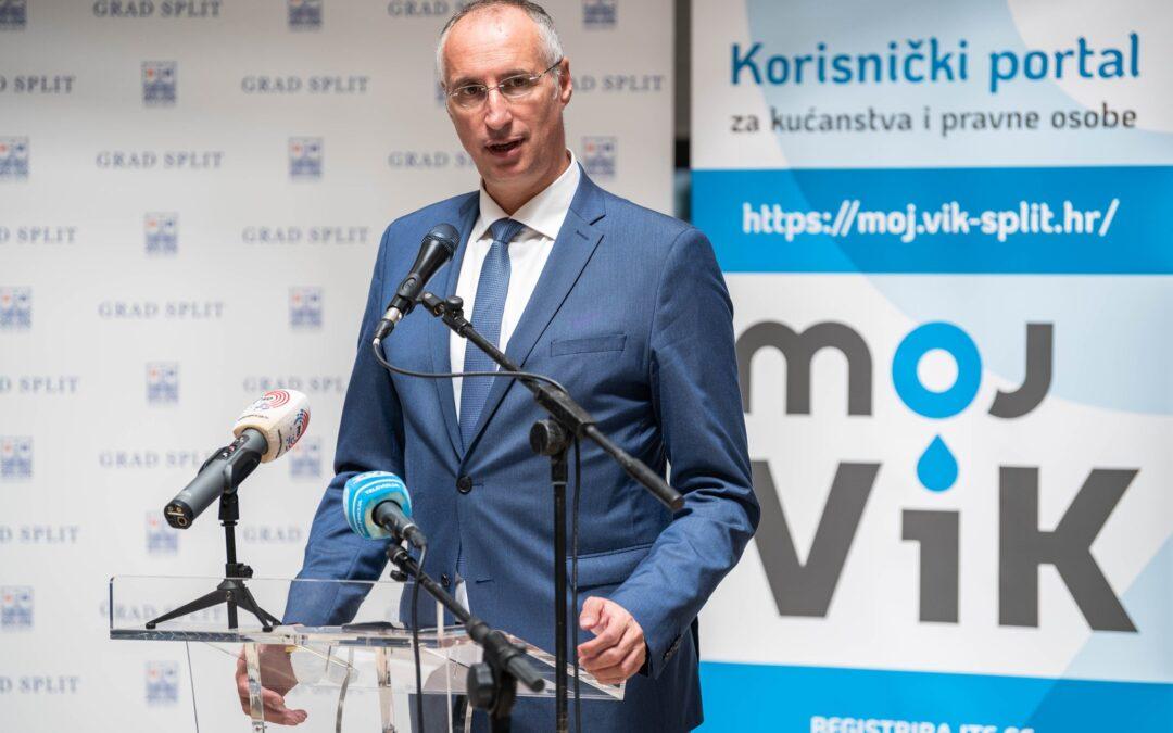 Split: Građani će moći kontrolirati potrošnju i račune za vodu plaćati online