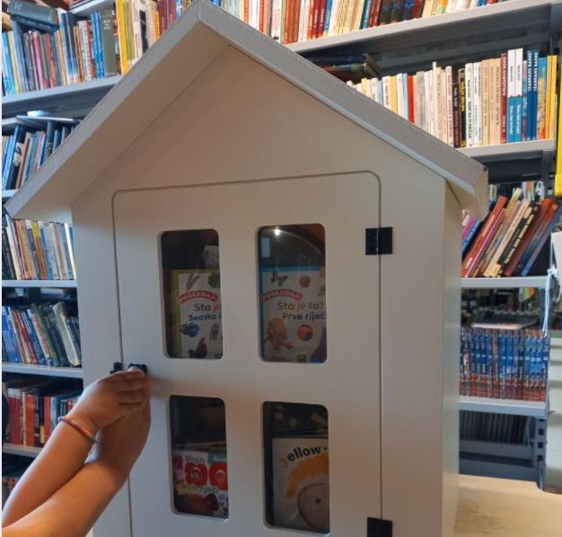 Pazin: Postavljaju se nove kućice za knjige