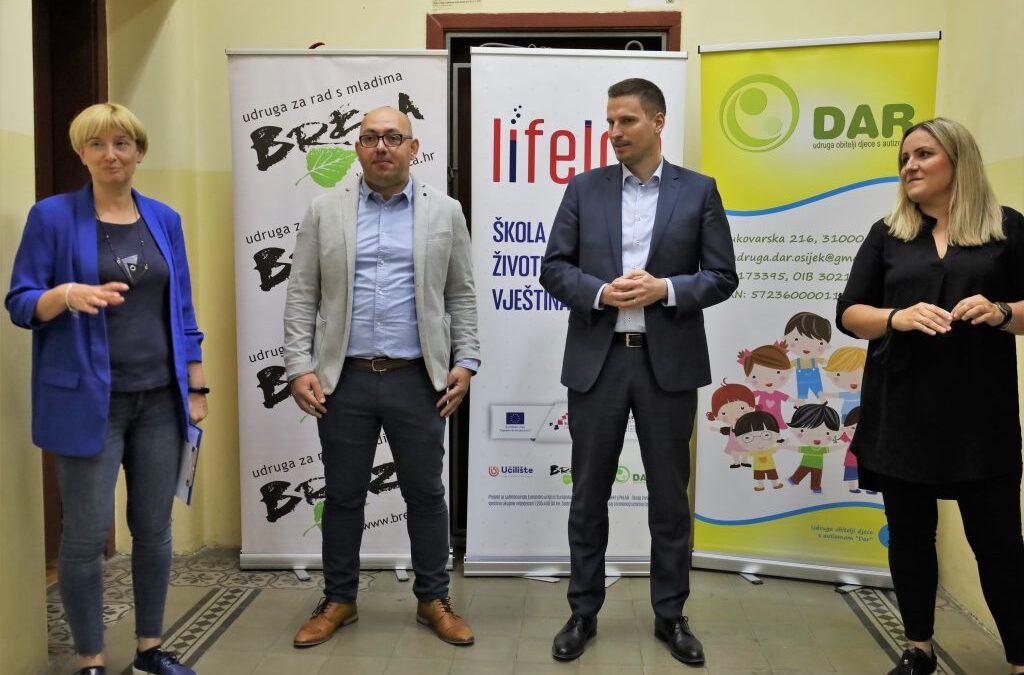 Osijek: 1,3 milijuna kuna za razvoj životnih vještina kod djece i mladih