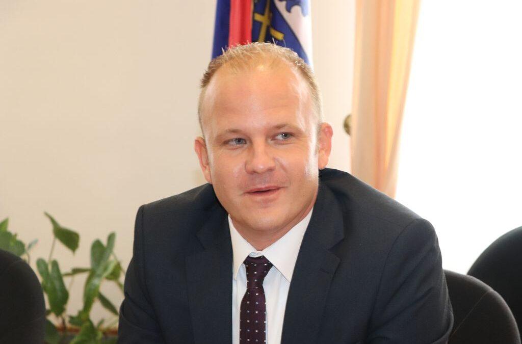Mišel Jakšić na sastanku s premijerom: Pred Koprivnicom je desetljeće nikad većih investicija