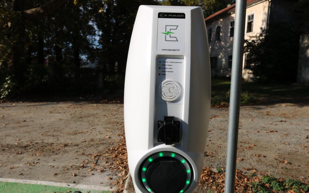 Pakrac: Proradila nova punionica za e-vozila