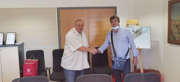 Susreli se gradonačelnici Belišća i Paga, dogovorena suradnja i razmjena iskustava u pripremi i provedbi EU projekata