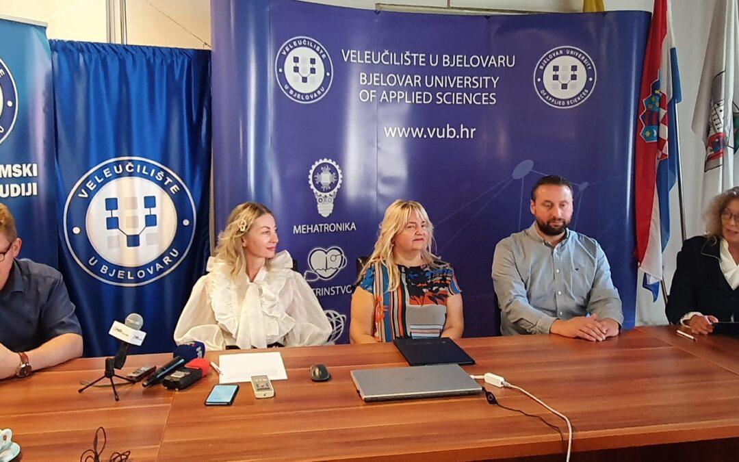 Bjelovarskom Veleučilištu dodijeljen Certifikat o razvijenosti sustava kvalitete