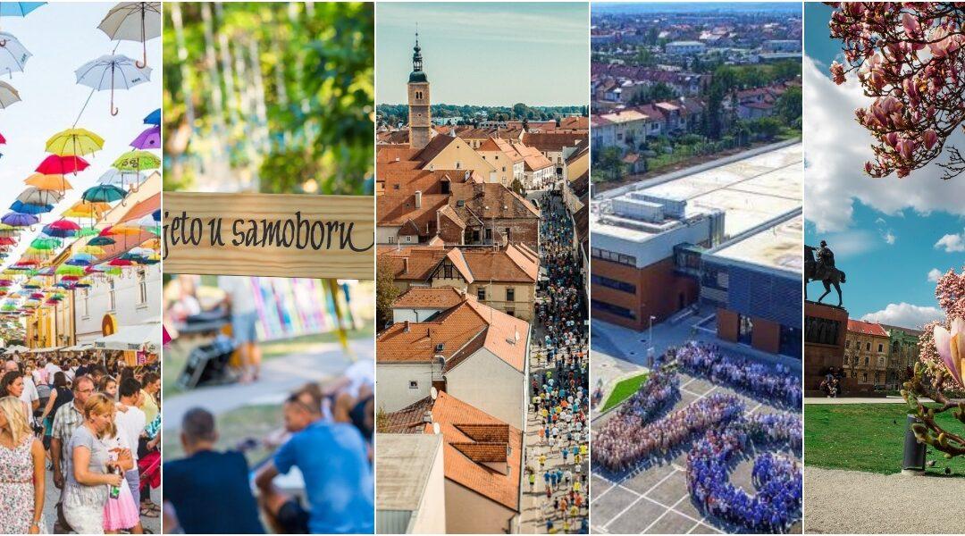 Čakovec brani titulu najboljeg grada za život u zemlji, u finalu Samobor, Varaždin, Velika Gorica i Zagreb